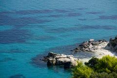 Zakynthos plaża Fotografia Stock