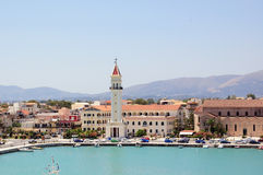 Zakynthos port Royalty Free Stock Photography
