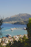Zakynthos port Royalty Free Stock Image