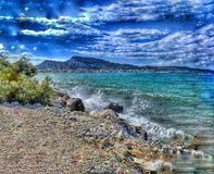 Zakynthos seascape Obraz Stock