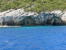 Zakynthos shore Royalty Free Stock Photography