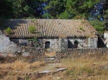 Zakynthos slott arkivfoto