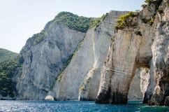Zakynthos wakacje obrazuje inspirować dla wakacje na wyspie zdjęcie royalty free