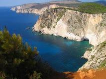 Zakynthos wybrzeże 3 Obrazy Royalty Free