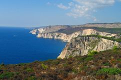 Zakynthos wybrzeże 3 Zdjęcie Stock