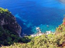 Zakynthos wybrzeże 4 Obrazy Stock