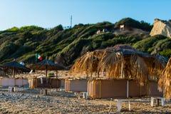 Zakynthos wyspa, gerakas plaża obrazy stock