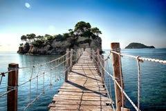 Zakyntos Grécia Agios Sostis foto de stock royalty free