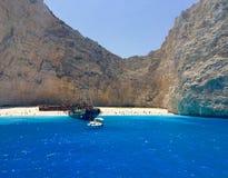 Zakyntos Greece Stock Photography