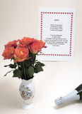 Zal mijn valentijnskaart zijn? royalty-vrije stock foto's