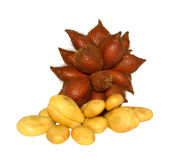 Zalacca, fruit from  Thailand. Zalacca, sweet and sour fruit from  Thailand Royalty Free Stock Photos