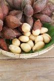 Zalacca and peeled seeded Stock Photo
