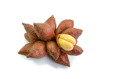 Zalacca, sweet and sour fruit Royalty Free Stock Photos
