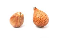 Zalacca, traditionelle süße Fruchtsaisonalaromen stockfoto