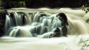 Zalana rzeka Obrazy Stock