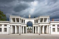 Zale Central kyrkogård, Ljubljana, Slovenien Royaltyfria Bilder