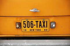 Zalen bij de oude gele Cabine, de Controleur van het autobedrijf moskou 27 royalty-vrije stock foto
