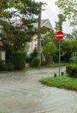 Zalewający teren w Balaton zdjęcia royalty free