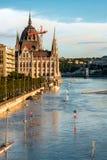Zalewający teren w Europa zdjęcia stock