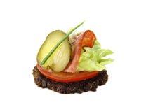 zalewy salami smaczny kąsek Zdjęcie Royalty Free