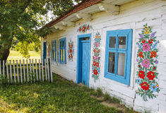 Zalipie, Poland - Colorful Village -  Open-air museum. Stock Images