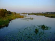 Zaliv Reka pluskwy Vinnytsia południowy region Obrazy Royalty Free
