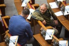 Zaludnia delegata Ukraina Dmytro Yarosh Zdjęcia Royalty Free