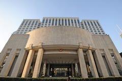 Zaludnia rzędu Szanghaj zarząd miasta Fotografia Stock