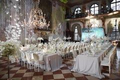 Zalzburg, Österreich - 19. Dezember 2015: HOTEL SCHLOSS LEOPOLDSKRON Lizenzfreies Stockfoto