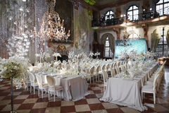 Zalzburg, Austria - 19 de diciembre de 2015: HOTEL SCHLOSS LEOPOLDSKRON Foto de archivo libre de regalías