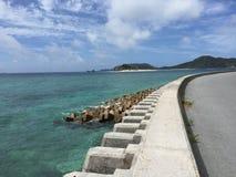 Zamami ö, Okinawa, Japan Royaltyfri Foto