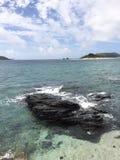 Zamami ö, Okinawa, Japan Royaltyfria Bilder