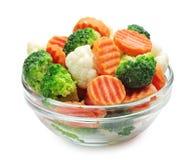 Zamarznięci warzywa zdjęcie royalty free