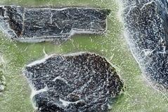 zamarznięte skały Obraz Royalty Free