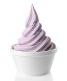 zamarznięty jogurt fotografia stock