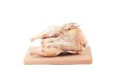 Zamarznięty kurczaka ścierwo Zdjęcia Stock