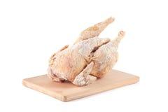Zamarznięty kurczaka ścierwo Fotografia Royalty Free