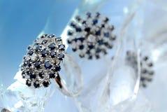 zamarznięty pierścionek Zdjęcie Stock