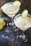 Zamarznięci Margaritas zdjęcia royalty free