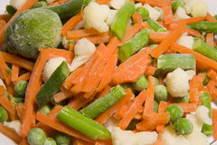 zamarznięci warzywa Zdjęcie Stock