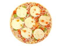 zamarznięta pizza Obrazy Royalty Free