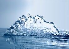 zamarznięta woda Zdjęcia Stock