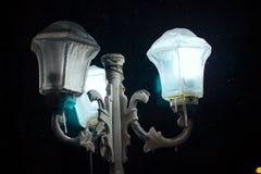 Zamarznięte latarnie uliczne Obraz Stock