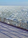 Zamarznięty Arktyczny morze Fotografia Royalty Free