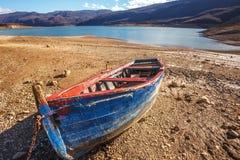 Zamarznięty Busko jezioro Obrazy Royalty Free