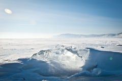Zamarznięty jezioro Obraz Stock
