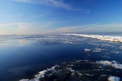zamarznięty morze Fotografia Stock
