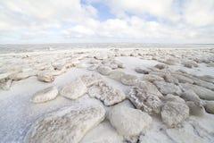 zamarznięty morze Zdjęcia Stock