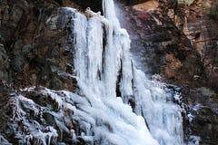 Zamarznięty waterfall-2 Fotografia Stock