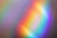 Zamazana abstrakcjonistyczna tło tęcza Obrazy Royalty Free